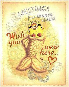 Minion beach. I wish I was there...