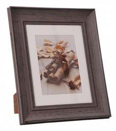 HENZO Holzbilderrahmen ANAIS - Foto Rahmen für Bilder 13x18 oder 18x24 cm - weiß oder taupe - Bilderrahmen aus Holz & Glas - Holzrahmen - Vorschau 2