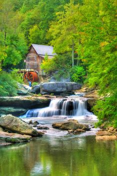 Glade Creek Grist Mill ~ Darren Fisher