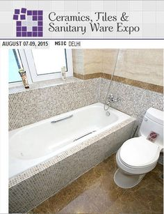 CERAMIC TILES & SANITARYWARE EXPO 2015- 07-09 August 2015 at Nsic Exhibition Ground, Outer Ring Rd, Okhla Phase III, Okhla, New Delhi, Delhi, India. #CeramicTilesSanitarywareExpo2015 #T#Tiles #Sanitaryware