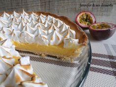 Une délicieuse tarte toute douce qui saura ravir tout le monde ! - Recette Dessert : Tarte aux fruits de la passion meringuée par JenSesDesserts