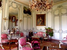 Chateau de Vendeuvre - The drawing room