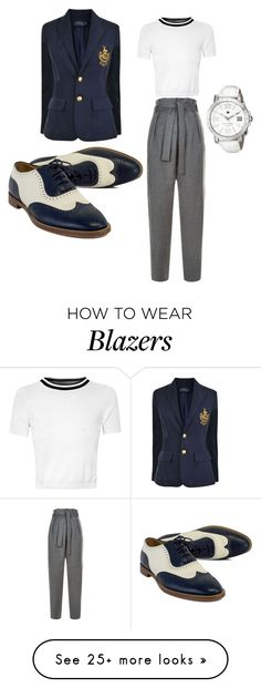 """""""Preppy"""" by danyleal98 on Polyvore featuring Maje, Glamorous, Polo Ralph Lauren, Ralph Lauren and Tommy Hilfiger"""