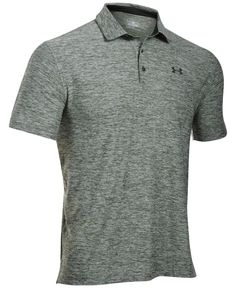 1cb1dbd59a Under Armour Men's Playoff Performance Heather Golf Polo - Gray M ...