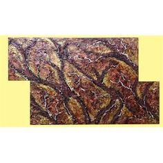 """Quadri Moderni. """"Radici d'ulivo""""  Il quadro astratto moderno rappresenta delle radici nelle tonalità reali terra e toni caldi del sottosuolo: omaggio agli alberi d'ulivo sradicati nel Salento!"""