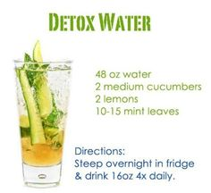 Who wants some detox water? Here's another!  Refreshing, healthy and makes water so addicting! Don't forget to SHARE. Which is your favorite detox/infused water?