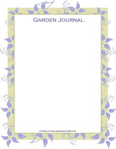 16 best garden journal ideas images on pinterest garden journal garden journal template maxwellsz