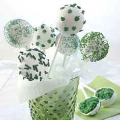 "I tell my foodpreneur clients to keep up with all of the great inspirational food ideas from the flavor mavens at McCormick. So here is a fun fact: according a spokes person ""…enough green food color was sold to tint more than 26.2 million cake pops emerald green!"""