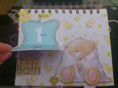 Babys first year mini album