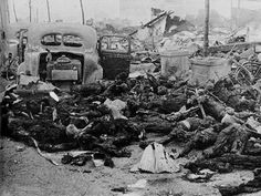 """On August 6, 1945 the uranium bomb, """"Little Boy"""", was dropped on Hiroshima killing 70,000-80,000 people immediately. Three days later, the plutonium bomb, """"Fat Man"""", was dropped on Nagasaki killing an estimated 40,000-75,000 instantly. Those that survived the initial blasts were then subject to severe radiation and thermal burns, radiation sickness and related diseases all aggravated by the lack of medical resources. It is estimated that another 200,000 people had died by 1950."""