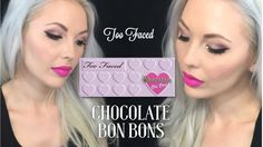 A smokey purple / bronze eye look, using Too Faced Bon Bons Palette for the first time in this video. Too Faced Eyeshadow, Eyeshadow Looks, Makeup Ideas, Makeup Tips, Eye Makeup, Smoky Eye Tutorial, Chocolate Bar Palette, Makeup Supplies, White Blonde