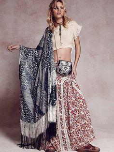 Free People  FP ONE Zoe Maxi Skirt www.fashiondiva-parisnyc.com #thefashiondiva #fashiondivaparisnyc
