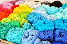 Colourful balls of yarn Pretty Crochet Inspiration and Patterns