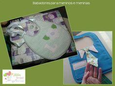Babadores para meninos e meninas - Além Brasil