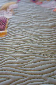inspiration: wood like quilting