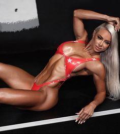 Lauren Simpson - laurensimpson - The Fitness Girlz Parte Superior Del Bikini, Crossfit Athletes, Fitness Models, Female Fitness, Fitness Women, Lingerie Models, Girls Who Lift, Bikini Bodies, Sport Girl