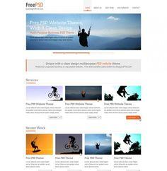 Minimalist Portfolio Website Templates Set - http://www.welovesolo.com/minimalist-portfolio-website-templates-set/