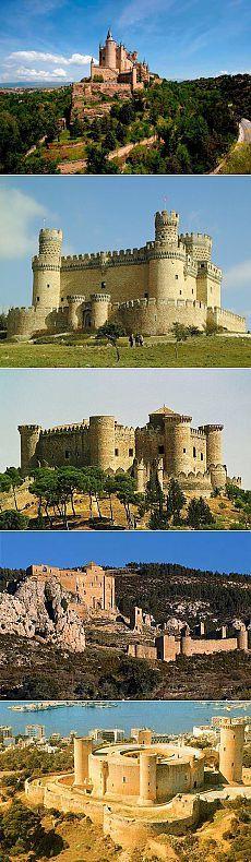 Старинные замки Испании / Туристический спутник
