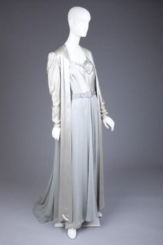 Nightgown and Dressing Robe 1936-1938 The Goldstein Museum of...