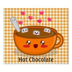 We drank alot of Swiss Miss Marshmallow lovers hot chocolate in our day!