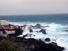 Wellengang und die Kraft des Meeres