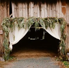 Barn entrance ideas for weddings at Gillbrook Farms in Warriors Mark Pennsylvania  www.gillbrookfarms.com