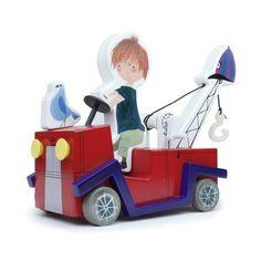 De Rode Kraanwagen - Ikonic Toys