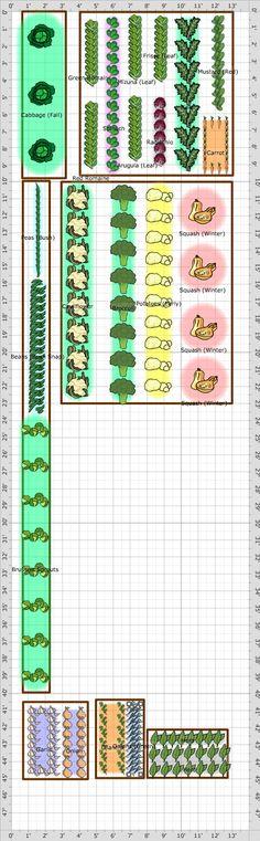 Garden Plan - 2013: Winter Garden