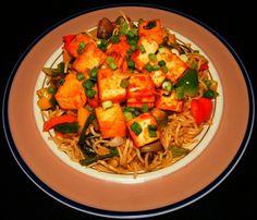 Tofu with Chile Sauce
