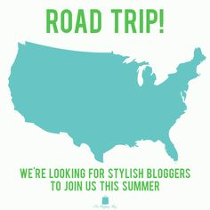 Beep! Beep! The Shopping Bag is planning a stylish summer road trip and is looking for bloggers to join us. If you are a fashion blogger who is proud to show off your state and style, we want to hear from you! To learn more and apply to represent your state this summer, email bloggers@shoptheshoppingbag.com with your blog URL and blog & social media analytics. We can't wait to share this summer adventure with you! Good luck!