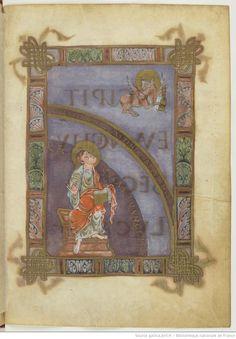 Evangelia ecclesiae Cenomanensis. Date d'édition : 0801-0900 Sujet : Canons des…