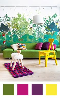 Home Decor bedroom home decor interior decoration Home Interior Design 2012 Asian Home Design Ideas So cool! Colorful Interior Design, Colorful Interiors, Home Interior Design, Interior And Exterior, Interior Decorating, Modern Interior, Colorful Rooms, Home Modern, Modern City