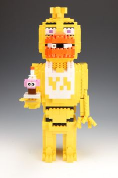Pin this is a lego five nights at freddy s golden freddy this creation