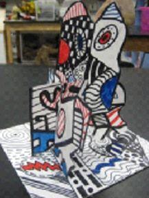 Cool Dubuffet Sculptures! Gr. 5 - CCISD's Rocking Art Teachers