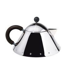 Alessi Black Teapot, 1 L