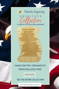 Looking For A Perfect Declaration Of Independence Souvenir? This Handmade Declaration Of Independence Ornament Is Perfect Addition To Your Decor Made In The Usa - Like This? Get A Discount Code Here: . Unique Christmas Gifts, Christmas Gift Guide, Rustic Christmas, Holiday Gifts, Christmas Decor, Secret Santa Gift Exchange, Secret Santa Gifts, Gettysburg Address, Rustic Wood Decor
