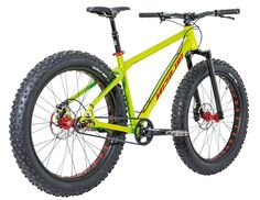 FAT but true!Bright green, huge 3.8 tires. These are the facts about the new Nicolai Argon Fatbike. The bike will be available in a few weeks in our shop as part of a special production series by NICOLAI. Riding a fatbike just puts a big smile on your face. Sand, snow or even deep and boggy grounds - you won't be able to stop the bike aaaand you wouldn't want to stop! The big tires give you an unbelievable feeling and every ride becomes a unique experience. We have tied it - now it is your…