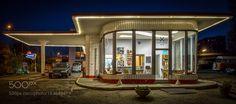 Oldtimer petrol station 1 9 5 3 by SaWagner1. @go4fotos