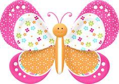 "Photo from album ""Hello Sunshine. Cartoon Butterfly, Butterfly Clip Art, Butterfly Images, Butterfly Crafts, Butterfly Wallpaper, Girl Wallpaper, Butterfly Birthday Party, Girl Birthday, Diy And Crafts"