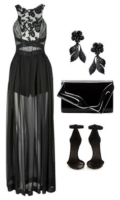"""""""Untitled #639"""" by alison-tann ❤ liked on Polyvore featuring Three Floor, Valentino, Isabel Marant and Christian Louboutin"""