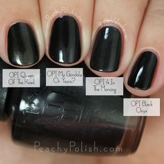 OPI My Gondola Or Yours? Comparison | Fall 2015 Venice Collection | Peachy Polish