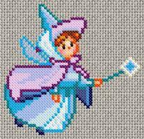 Free Sleeping Beauty Cross stitch pattern 9137[1].gif.thumb