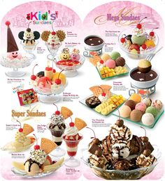 Swensens Ice Cream Cake Designs