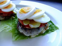 The Danish open sandwich goes paleo - meat and no bread!
