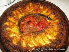 ANTAKYA SİNİ KEBABI  Sevgili Aysun Özden Bekmez ' e tarifini bizlerle paylaştığı için teşekk... Ratatouille, Good Food, Eat, Ethnic Recipes, Desserts, Drink, Kochen, Tailgate Desserts, Deserts