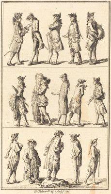 Chodowiecki, Daniel Nikolaus German, 1726 - 1801 Servants 1780 etching Engelmann 1857, no. 342 Gift of Dr. Dieter Erich Meyer1980.49.7