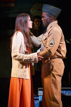 Sutton Foster & Joshua Henry in Violet on Broadway