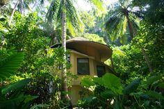 Rainforest pavilion Rayavadee Thailand