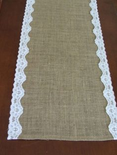 11 Burlap And Lace Wedding Runners 42% off retail