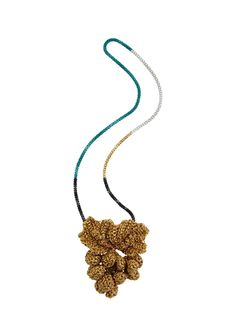 Lucy Folk presents ALL SORTS - Resort 13/14 - GOLDEN GRAPEVINE NECKLACE  http://lucyfolk.com/shop/golden-grapevine-necklace-2/